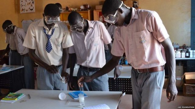 Construction on Marial Bai Secondary School began in 2008, two years after the publication of What is the What