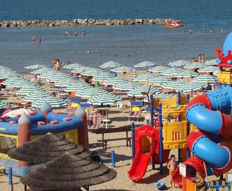 spiaggia da Romano