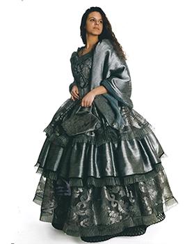 Dama 800 vestito grigio