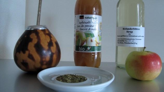 Zutaten für einen argentinischen Öpfelmost