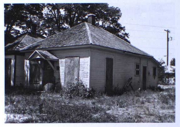 609 Ash Street, back elevation (1981)