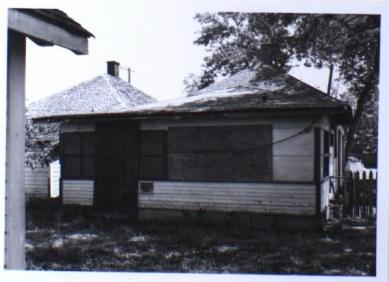 611 Ash Street, back elevation (1981)