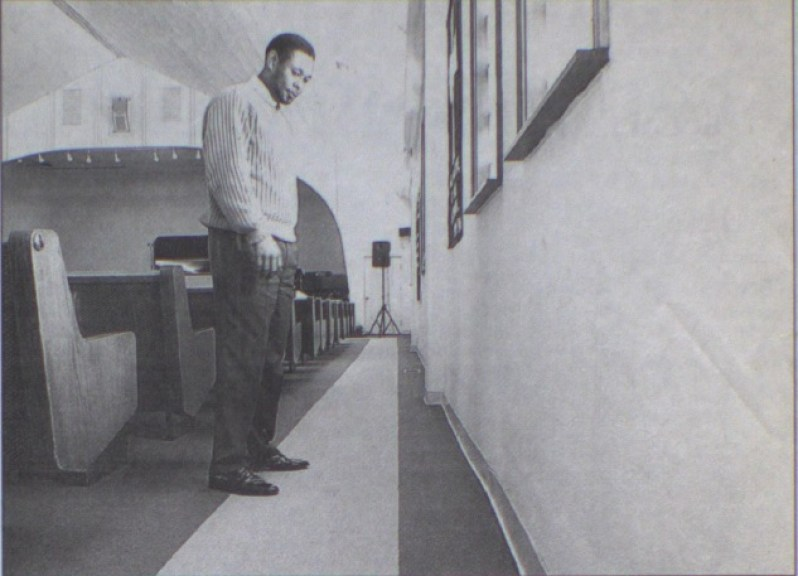 Rev. MIchael Ross ponders his church's future, 2002