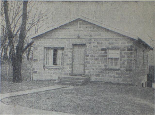 St. Paul parish house, 1950