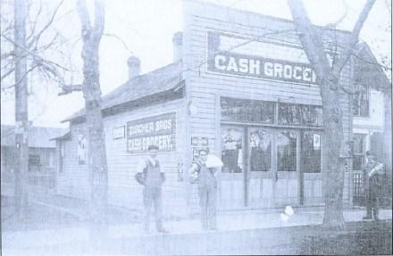 The former Zurcher's Grocery is still a River Street fixture (n.d.)
