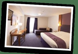 Dagenham Hotel Room