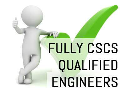Fully CSCS Qualified Engineers