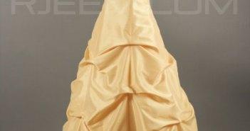 فستان سهره اصفر