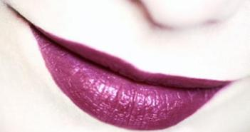 lèvre violet