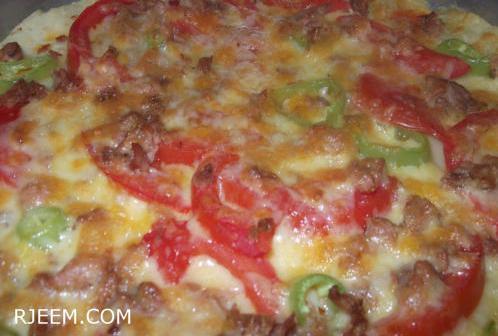 وصفة بيتزا بالبطاطا لليوم الفري
