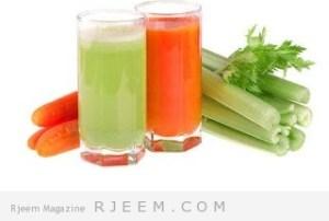 عصير ناسف لاحتباس المياه في الجسم و حارق للدهون