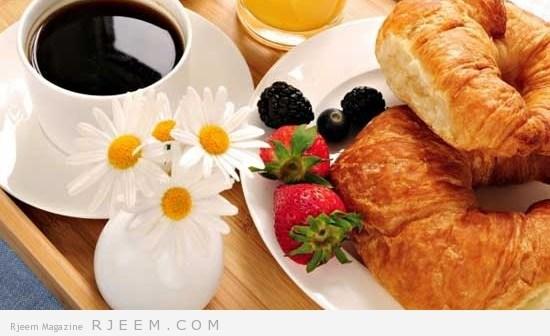 وجبة الإفطار الصحية