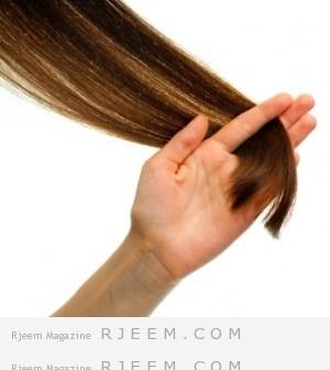 اسرع طريقة لترطيب الشعر الخشن