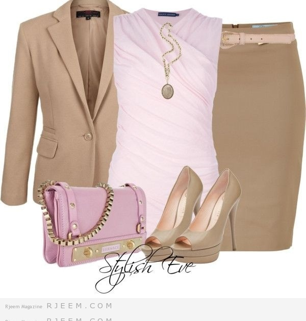 تنسيق ملابس كلاسيكية روعة