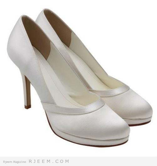 احذية زفاف روعه لعروس 2014