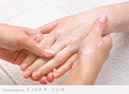 الطين الابيض لرعاية يديك