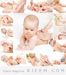 كيفية تدليك الطفل وتحضير زيت التدليك  في المنزل