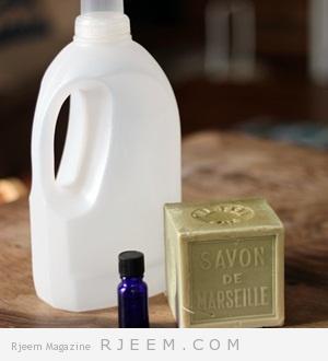 اصنعي الصابون السائل  الخاص بك في  منزلك لملابس اكثر نظافة