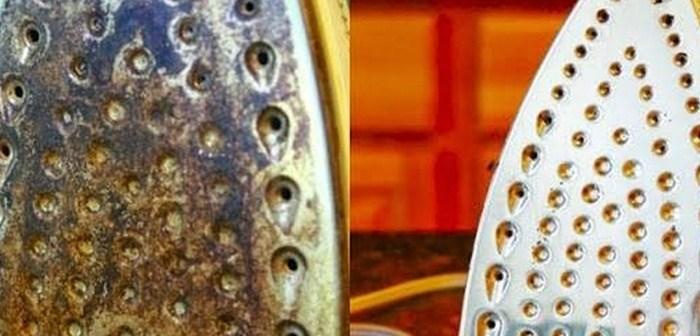 اربع نصائح لتنظيف مكواة الملابس