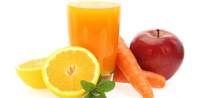 عصير الفواكه و  الجزر المنعش