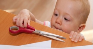 حافظي على سلامة طفلك في المنزل