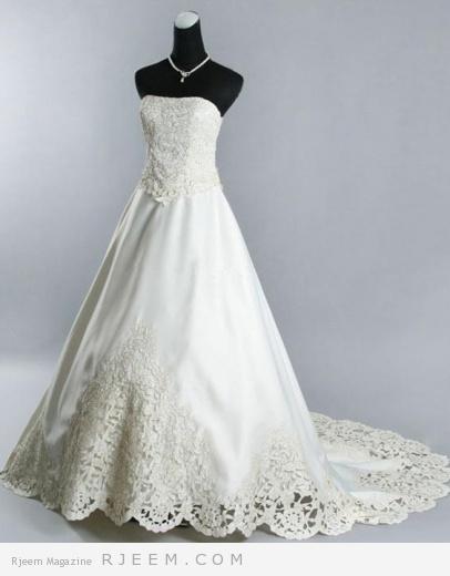 فساتين زفاف روعه لعروس 2014