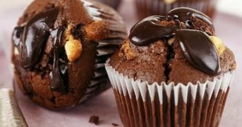 موفن الشوكولاته السوداء