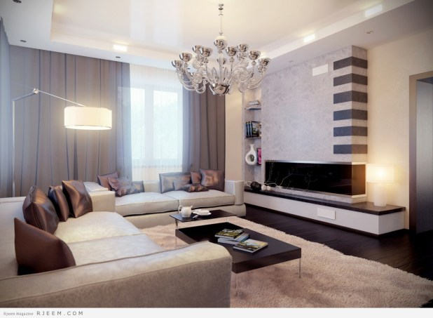 ديكورات غرف معيشة رائعة