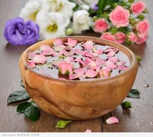 وصفات جمالية بماء الورد