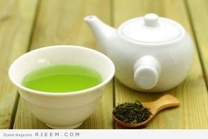 ماسكات الشاي الاخضر للبشرة