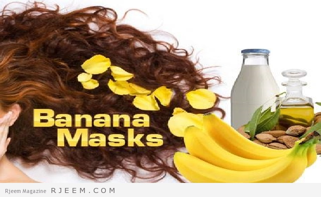 bananes pour les cheveux