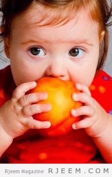 فوائد الخوخ للاطفال
