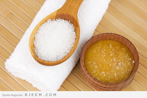 7 استعمالات للملح و السكر للجمال