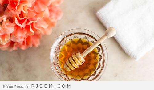 قناع ماسك العسل للبشرة الدهنية