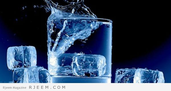 الماء المثلج