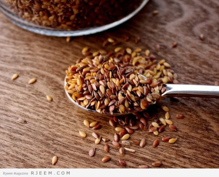 بذور الكتان - فوائد ومضار بذور الكتان