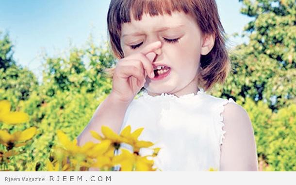 الحساسية الموسمية - اعراض وعلاج الحساسية الموسمية