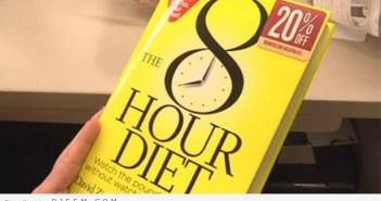 Diet 8 hours