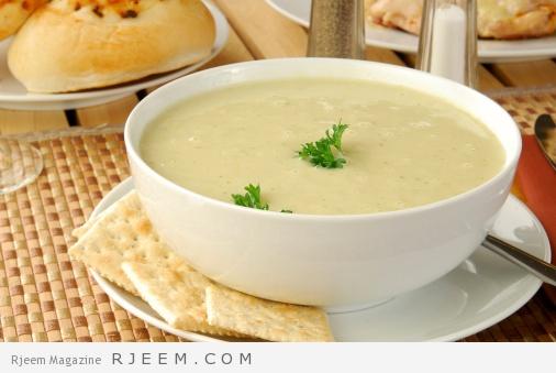Bowl of celery soup
