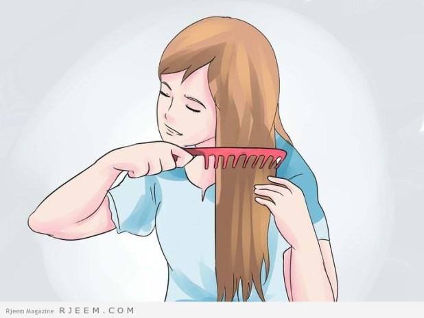 5 خطوات لتعطير الشعر