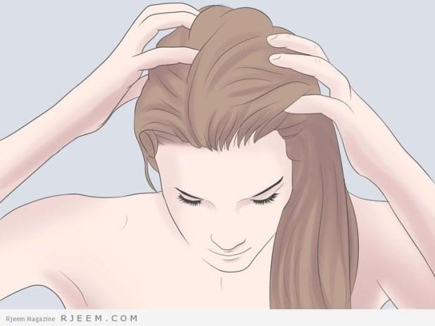 5 خطوات منزلية للحصول على شعر رائع وصحي