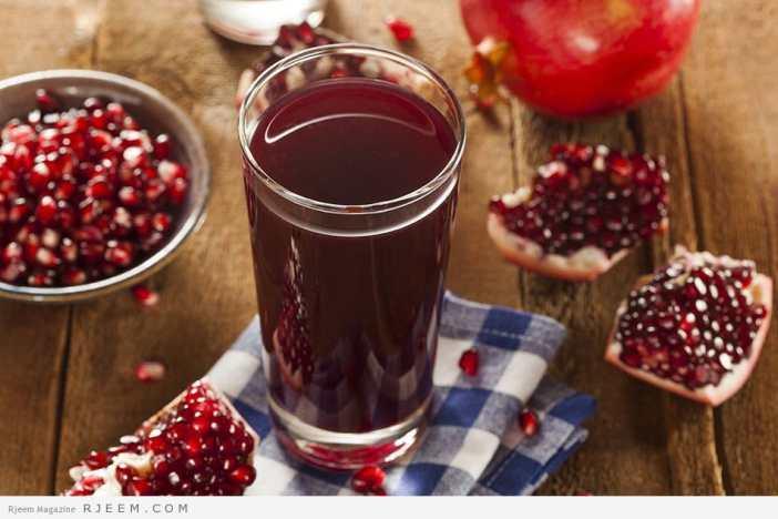 فوائد عصير الرمان الصحية والجمالية