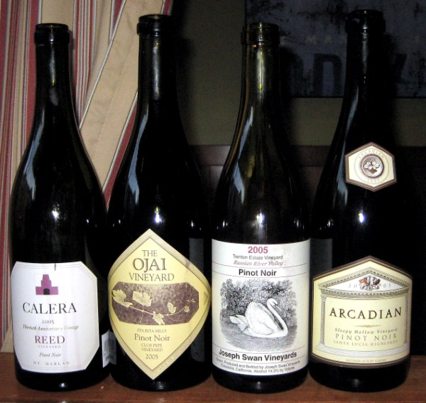 Great California Pinot Noirs