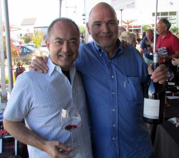Soliste Cellars' Claude Koeberle and Donald Plumley