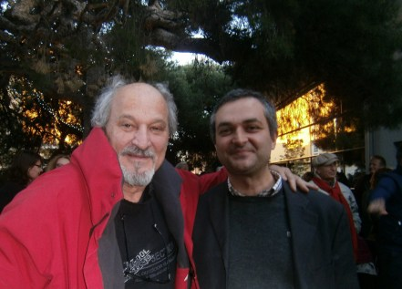 Richard Martin et Francesco Neri, directeur de l'Institut culturel italien