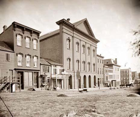 The Ford Theater, where Abraham Lincoln was assassinated