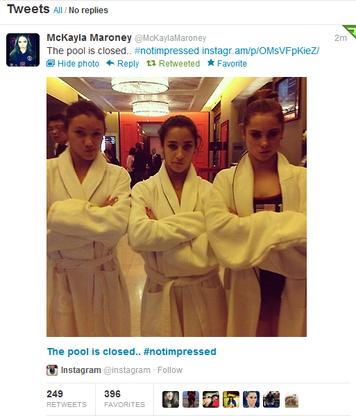 McKayla After Olympics