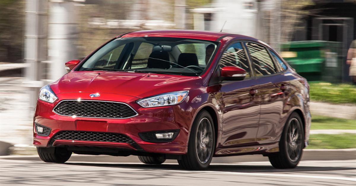 2016 Ford Focus 4-Door Sedan SE Road Test