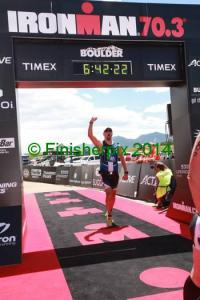 IM Boulder 70.3 - Finish 10