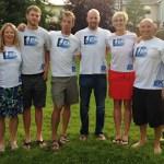 Celebrating with Team EK Endurance